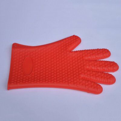 Oven Gloves Heat Resistant Thick Cooking BBQ Grill Glove Oven Mitt Baking GloveY
