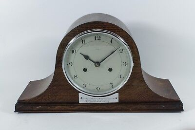 Enfield 8 Day Napoleon Hat Striking Clock Good Condition (Fully overhauled)