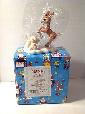 "Enesco Rudolph And The Island Of Misfit Toys  ""Friends for All Seasons"" NIB"
