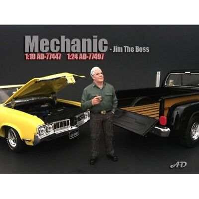 1/18 scale -AD-77447 Mechanic Jim the BOSS - AMERICAN DIORAMA - figure/figurine
