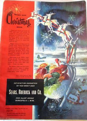 1949 Sears Wish Book / Christmas Catalog On DVD Disc See Pictures Toys & More