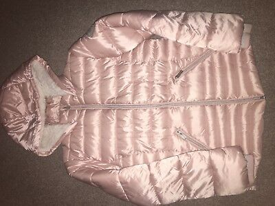 Girls winter jacket NEXT, pink, age 11