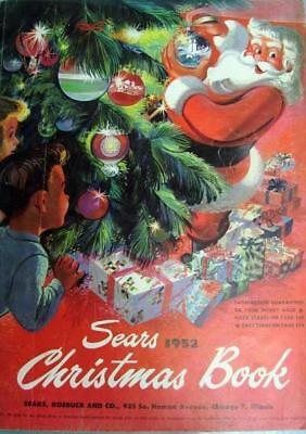 1952 Sears Wish Book / Christmas Catalog On DVD Disc See Pictures Toys & More