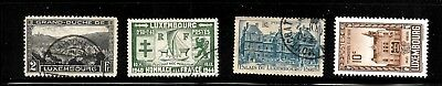Hick Girl Stamp- Beautiful Used France-Luxembourg  Stamps   Various  I1101