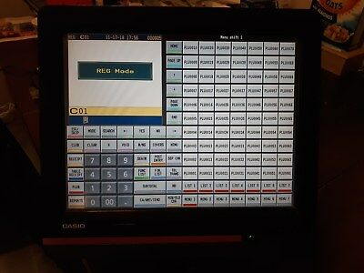 CASIO QT 6600 used pos cash register