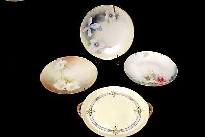 SET OF 4 Antique Vintage GERMANY Chic Cottage Shabby Victorian Butter Dishes