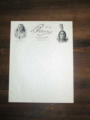D. F. Barry Letterhead / Stationary