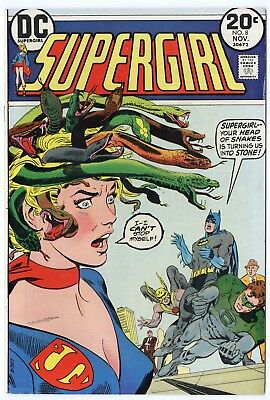 Supergirl #8 VF/NM 9.0 white pages  DC  1973  No Reserve