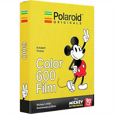 Polaroid Originals 4860 Color 600 Instant Film-Mickey'S 90Th Anniversary Edition