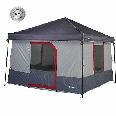 OZARK Trail 6 Person ConnecTent™ Pop Up Instant Canopy C&ing Tent Outdoor USA  sc 1 st  PicClick & OZARK TRAIL 6 Person ConnecTent™ Pop Up Instant Canopy Camping Tent ...