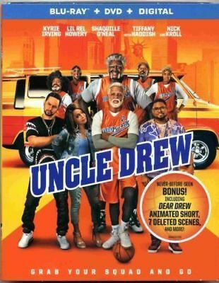 UNCLE DREW (Blu-ray + DVD) 2018 w Slipcover NO DC - DISCS NEVER PLAYED!
