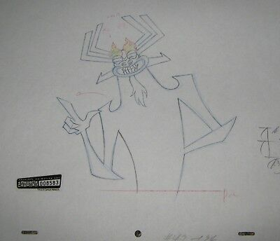 Original production drawing - Samurai Jack