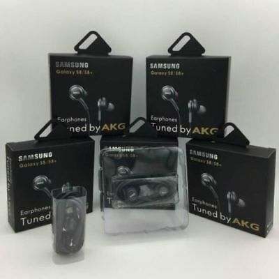 Samsung AKG Headphones Earphones For Galaxy s8 s9 s9 Plus note With Mic