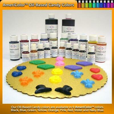 NEW Candy / Chocolate Colours Oil Based 56.7g Cake Decorating Cake Baker