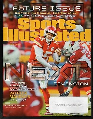 2018 Sports Illustrated Kansas City Chiefs Patrick Mahomes Subscription Iss NR/M
