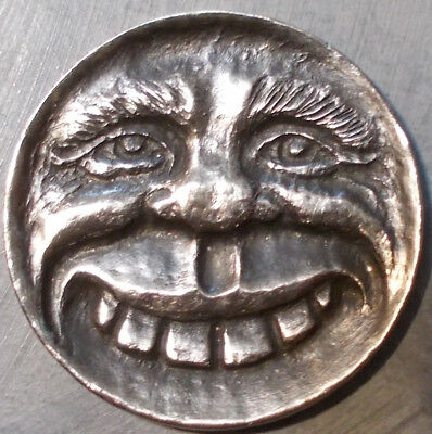Deep Carved Hobo Nickel,  Oh Happy Day!