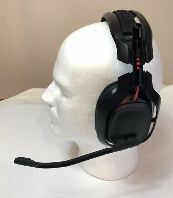 ASTRO A50 Black/Red Wireless Gaming Headset for PS4/PS3/PC/Mac  NOT Tested