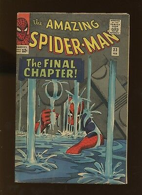 Amazing Spider-Man 33 FN 5.5 *1 Book* 1966 Marvel! 1st app Looter! Stan Lee!