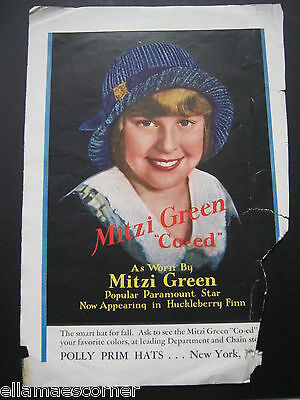 1930s Mitzi Green Magazine Advertisement