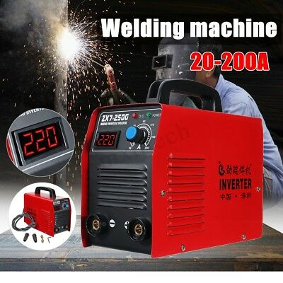 200Amp Portable Welder Welding Inverter Machine MMA IGBT ZX7-250G IGBT DC  new