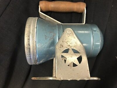 Antique Rail Way Linesman Flash Light Signal the star headlight and lantern co
