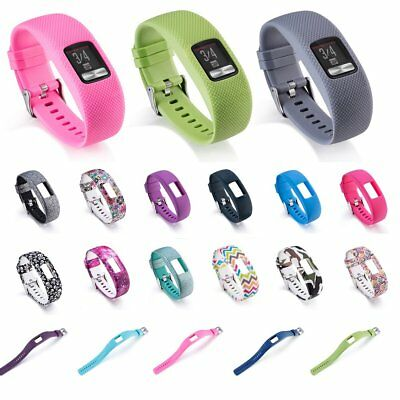 Replacement Wrist Band Silicone Watch Band Strap for Garmin Vivofit 4 Tracker QU