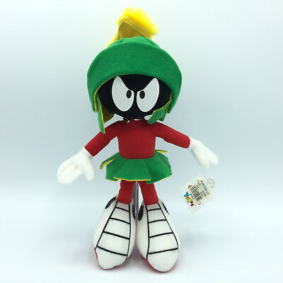 """Vintage 1994 Marvin the Martian 14"""" plush toy Looney Tunes Applause with Tags"""