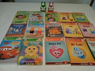 Leap Frog Tag Jr Book Lot Of 15 With Scout & Violet Readers