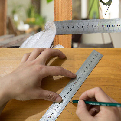250-600mm Metal L Shaped 0-90 Degree 1 Level Wide Base Angle Try Square Ruler