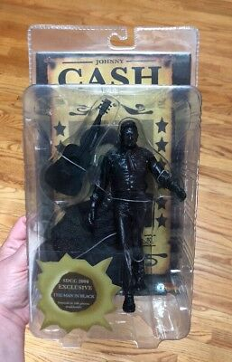 JOHNNY CASH SDCC 2006 EXCLUSIVE THE MAN IN BLACK COLLECTIBLE FIGURE 500 Made!!