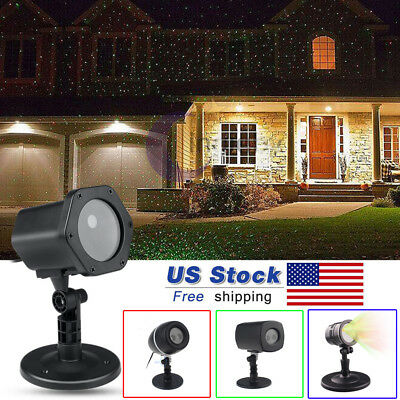 Christmas Laser Fairy Light Projection Outdoor Moving Star Laser Projector Decor