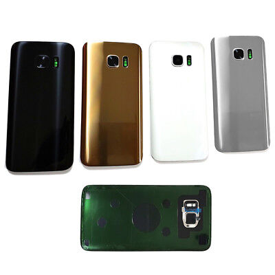 BACK REAR GLASS HOUSING+CAMERA LENS COVER+TAPE FOR SAMSUNG GALAXY S7/S7 EDGE Won