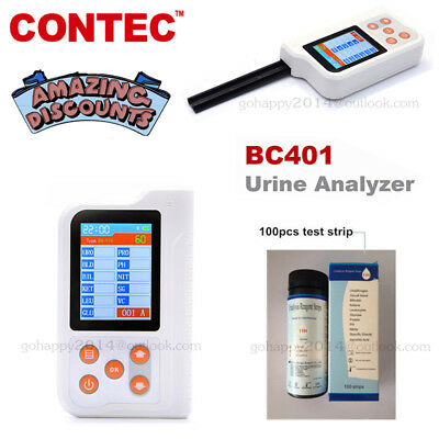 New Urine Analyzer color LCD high-precision intellectual instrument Test strips