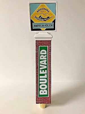 Boulevard Brewing Co American Kolsch Beer Tap Handle Brick Tower NEW in BOX 11""