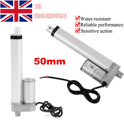 2 Inch DC12V 750N 50mm Linear Actuator Motor For AutoCar RV Electric Door Opener