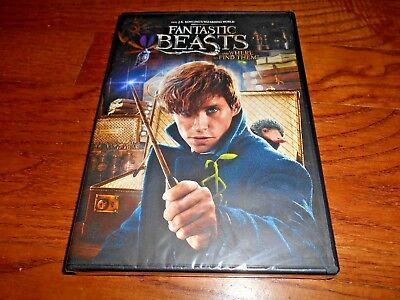 Fantastic Beasts and Where to Find Them *Y-Folded Sealed DVD,2017) New Fast Ship