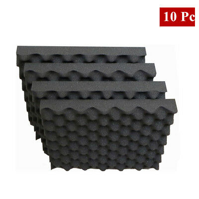 New 10Pcs Corner Bass Trap Acoustic Panel Studio Sound Absorption Foam 50*50*2cm