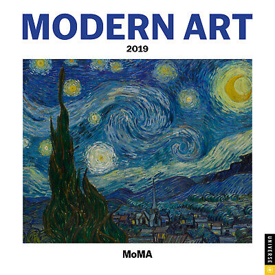 Modern Art 2019 Mini Wall Calendar by Andrews McMeel, Postage Included