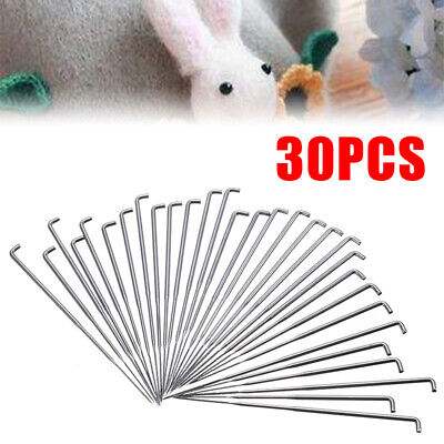 30pcs 3 Various size Wool Felting Needles Felt Tools Needle Starter DIY Craft