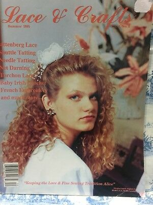 Lace & Crafts Magazine -Volume 4, Issue #2: SUMMER 1991