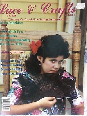 Lace & Crafts Magazine -Volume 4, Issue #3: SUMMER 1991