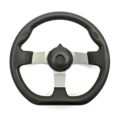 Steering Wheel 3 Bolt Fixing Gokart Offroad Project Build Kart Ergonomic Grip