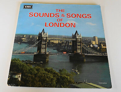 """Sounds & Songs Of London - Columbia 1968 UK Columbia SAX 9001 NM 12"""" LP +Booklet"""