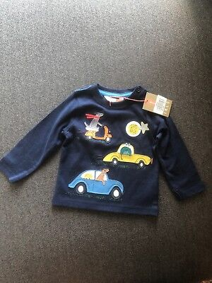 Boy Top Long Sleeve John Lewis 3-6 Months Long Sleeved Vest Outfit