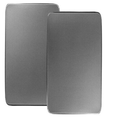Stove Burner Covers 2 Piece Rectangular Kitchen Stainless Steel Electric Range
