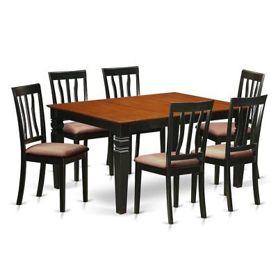 7  Pc  Kitchen  table  set  with  a  Dinning  Table  and  6  Kitchen  Chairs...