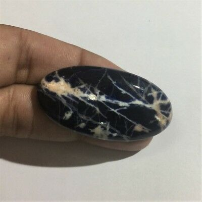59.2 Cts 100% Natural Beautiful Blue Sodalite Cabochon Loose Gemstone L#1794-10