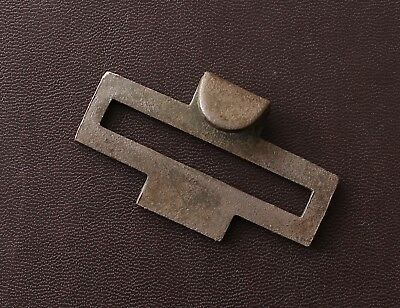 Original WW1 / WWI Relic Imperial German brass Hook for Leather Belt and Buckle