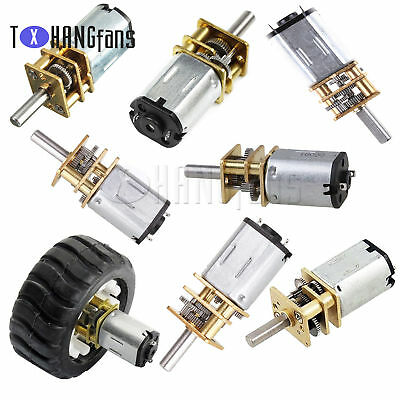 GA12-N20 6/12v 30-1000RPM smart car Miniature DC motor with Gearwheel Shaft ATF