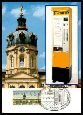 BERLIN ATM MK SCHLOSS CHARLOTTENBURG MAXIMUMKARTE CARTE MAXIMUM CARD MC (m1177